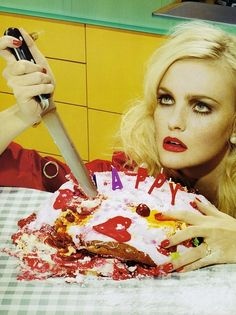 Another Year Older ~ by Miles Aldridge