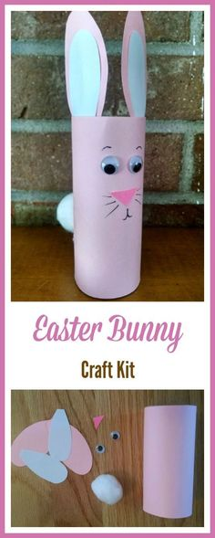 Easy spring crafts for elementary kids | easter bunny crafts for preschool kids #Easterbunny #eastercrafts #affiliate