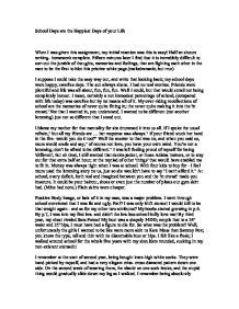 Write An Essay About Your School Persuasive Topic Topics English Narrative Spm Example Story