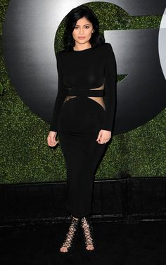 Kylie Jenner arrives at GQ Men of the Year Party