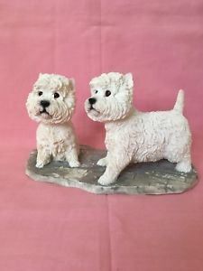 West Highland Terriers By The Leonardo Collection 2002 Collectible Ornament