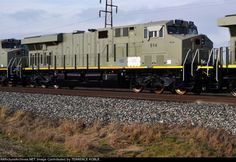 IAIS 514   Description:  New in transit on CSX Q349   Photo Date:  12/21/2014   Location:  Bascom, OH   Author:  TERRENCE ROBLE  Categories:  Roster  Locomotives:  IAIS 514(ES44AC)