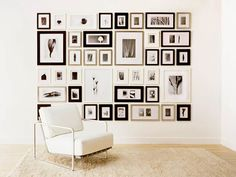 Photo: Courtesy of Amazon.com  The Picturewall Company Photo Frame Kit    Organizing your snaps into a gallery-worthy display just became, well, a snap.    Available at amazon.com, $349.    Related Links    Jazzy Furniture on the Cheap  Throw a Party on a Budget  Become a Green Thumb  More Stuff We Love