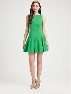 RED Valentino Drop-Waist Dress