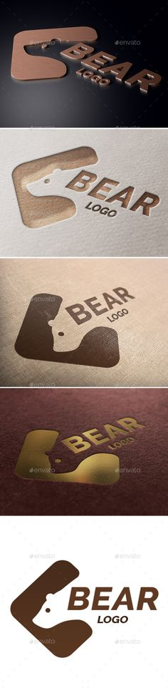 Bear Logo - Animals Logo Templates Download here : https://graphicriver.net/item/bear-logo/19269889?s_rank=10&ref=Al-fatih