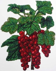 Advanced Embroidery Designs - Red Currant