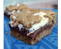 Gluten Free Smore's bars and link to make your own gf graham crackers
