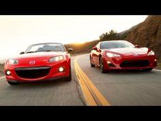 2013 Scion FR-S vs 2013 Mazda MX-5 Club! - Head 2 Head Episode 27