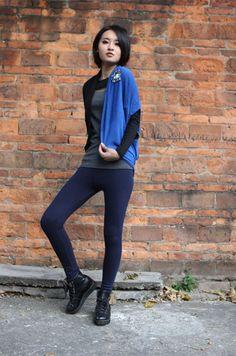 Women's Solid Skinny Legging - BuyTrends.com