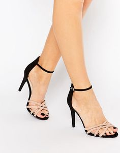 New Look - Sandales à talons et lanières