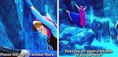 Like any normal person, Anna isn't a big fan of exercise.... | 17 Reasons Why Anna Should Be Your Favorite Disney Princess