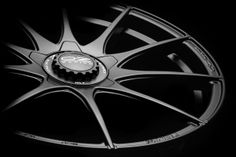 Formula HLT 5 Holes Matt Black with Central Lock Hubcap #OZRACING #ITECH #FORMULA #HLT #RIM #WHEEL