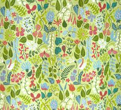 Josef Frank Wallpaper. #lifeinstyle #greenwithenvy