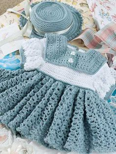 Spruce Dress and Hat $2.99