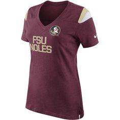 Nike Women's Florida State University Fan Top