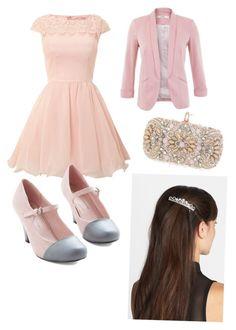 Modern Princess Aurora (Disney) by serixham on Polyvore featuring polyvore, fashion, style, Chi Chi, Miss Selfridge, Marchesa, Tasha and modern