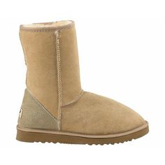 Sand-colored Uggs