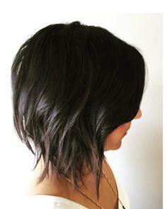 """A soft texture bob. #razorcut #hairbymirna #shannonhairsalon"""