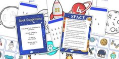 EYFS Space Discovery Sack - eyfs, space, resouce pack, games