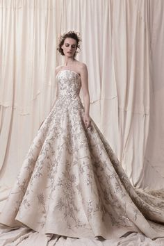 Embellishment champagne gold princess ball gown a line wedding dress royal train- sophisticated wedding dresses with impeccable detailing embellished bodice princess ball gown wedding dress Krikor Jabotian 2018 Wedding Dresses Sophisticated Wedding Dresses, Best Wedding Dresses, Bridal Dresses, Wedding Gowns, Mode Lolita, Princess Ball Gowns, Princess Wedding, Dress Plus Size, Ball Dresses