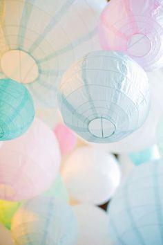 Pastel Lanterns | Wedding inspiration | Wedding Ideas |