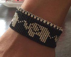 Crochet Bracelet Pattern, Loom Bracelet Patterns, Bead Loom Bracelets, Bead Loom Patterns, Beaded Jewelry Patterns, Friendship Bracelet Patterns, Beading Patterns, Bead Loom Designs, Beaded Lanyards