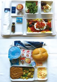 Some airlines have better food choices than others, having something to enjoy and look forward on your flight halls pass the time and make the trip overall more enjoyable and comfortable.