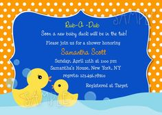 Cutest baby shower invites!!!!