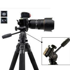 for Canon EOS D60 Professional Heavy Duty 72 Monopod//Unipod Dual Optional Head