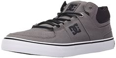 DC Lynx Vulc Mid TX Unisex Shoe GreyBlack 55 M US * Find out more about the great product at the image link.
