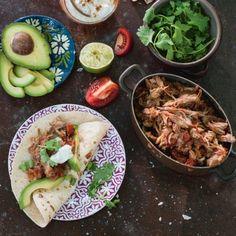 Wrap met Mexicaanse pulled pork