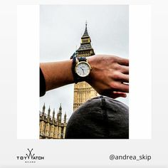 """...and on this side you can admire the unmistakable Big """"ToyWatch"""" Ben smile emoticon Thank you Andrea for this funny and typically British postcard that shows your #TWlove! Use #ToyWatch on your next shot for a chance to be featured #ToyWatch #watch #watches #style #fashion #accessories #menswear #forhim"""