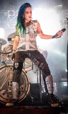 Alissa White-Gluz of AE
