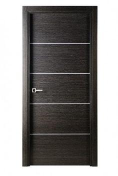 Avanti modern interior single door italian black apricot for Modern single door design