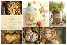 My calendar te make: October. #moodboard #mosaic #collage