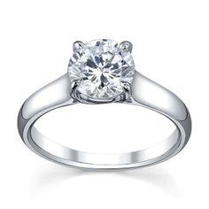 Classic Solitaire Gen100 Engagement Ring- Genesis Diamonds $950.00