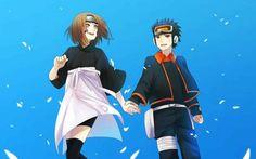 Obito and Rin♥♥♥ #Love #Couple #Beautiful #Cute