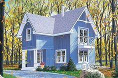 Plan de maison no. W2920 de dessinsdrummond.com
