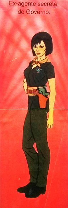 Rambo/aAlbum de figurinhas que saiu no Brasil em 1988/Katie