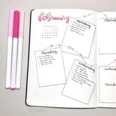 Check out these romantic Valentine& Day Bullet Journal Spreads - wo . - Check out these romantic Valentine& Day Bullet Journal Spreads – weekly … – - Bullet Journal Inspo, Bullet Journal Spreads, Bullet Journal Student, Bullet Journal Weekly Layout, February Bullet Journal, Bullet Journal Cover Page, Bullet Journal Notebook, Bullet Journal Aesthetic, Bullet Journal Ideas Pages