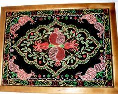 Azerbaijan embroidery - caucasusgeography.blogspot.com