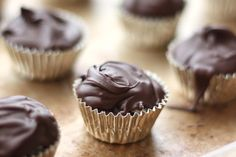 Homemade Almond Joys with Dark Chocolate recipe by Barefeet In The Kitchen