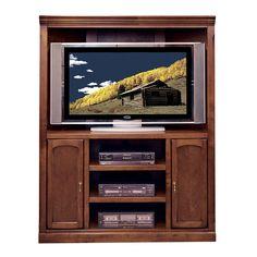 "Legends Furniture OS2201.SPR Old Savannah 54"" Corner Entertainment Center"