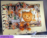 Oktober Kalenderseite mit House Mouse Design: http://nataschas-blog.blogspot.de/2015/09/house-mouse-and-friends-monday.html