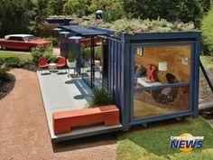 Casa por R$ 80 mil, entregue em 45 dias, usa estrutura de container - Arquitetura - Campo Grande News