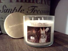 Marshmallow Fireside 3 wick candle from Bath & Body Works