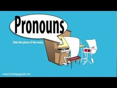 Pronouns 1 Song From English Learning Upgrade - This is a terribly annoying song about pronouns. How could anyone forget what a pronoun is after watching this video?