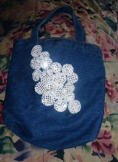 DIY Easy Embellished Tote Bag