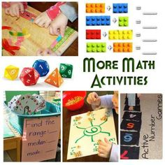 Household items that can help your child with math lessons.