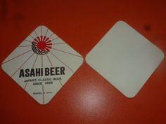 EN. aug JAPAN NIPPON ASAHI beer coaster  NR64 Beer Mats, Beer Coasters, Asia, Japan, Ebay, Okinawa Japan, Beer Bottle Caps